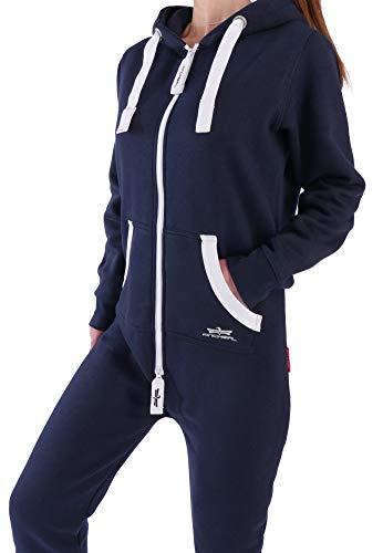 Finchgirl Damen Jumpsuit Overall Navy - 2