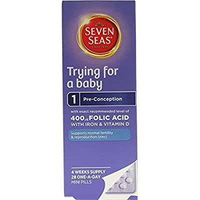 Trying for a Baby (28 capsule) - x 3 Pack Savers Deal from Seven Seas