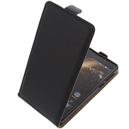 foto-kontor Tasche für Allview P9 Energy Mini Smartphone Flipstyle Schutz Hülle schwarz