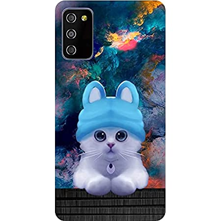 BuyFeb Silicon Soft Printed Mobile Back Cover Case Compatible for Samsung Galaxy M02s / F02s
