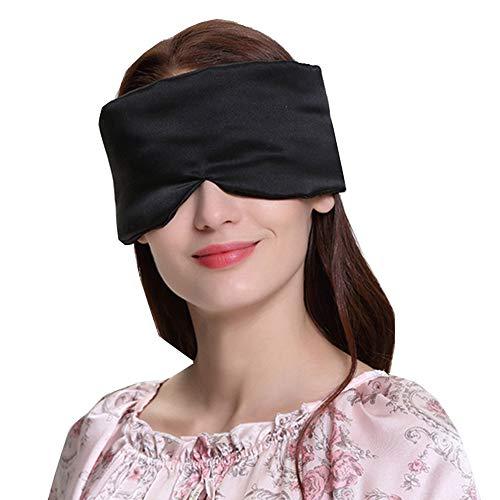 Grand masque pour les yeux 100% soie de mûrier