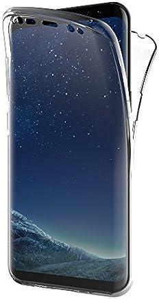 """AICEK Funda Samsung Galaxy S8, Transparente Silicona 360°Full Body Fundas para Samsung S8 Carcasa Silicona Funda Case (5.8"""")"""