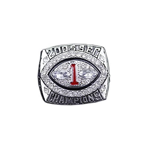 WSTYY 2005 Chicago Bulldogs College League Championship Ring Anillos de Campeonato, campeones Anillo de réplica para Aficionados Colección del Regalo del Recuerdo de los Hombres,with Box,11#