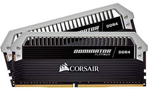 Corsair CMD16GX4M2C3333C16 Dominator Platinum DDR4 16GB (2 x 8GB) C16 Arbeitsspeicher Kit 3333MHz XMP 2.0