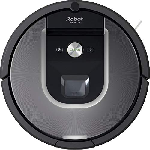 iRobot - Roomba 960 Wi-Fi Connected Mapping Robot Vacuum - Works with Alexa, Ideal for Pet Hair, Carpets, Hard Floors - Gray - BROAGE 6 Colors Microfiber Cleaning Cloths