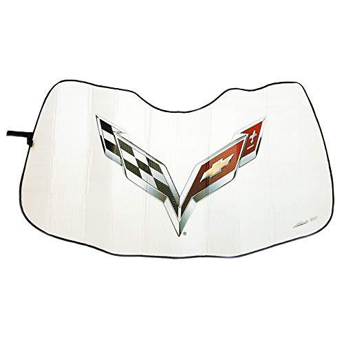 Corvette Folding Insulated Windshield Sun Shade : 2014-2019 C7 Stingray, Z06, Grand Sport