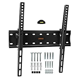 """VESA MOUNT COMPATIBILITY: (please check your TV VESA dimensions are compatible before purchasing - it is the distance between the mounting holes on the back of the TV in millimetres): 200x200; 400x200; 300x300, 400x400mm - for 26-55"""" TVs. FLAT TO WAL..."""