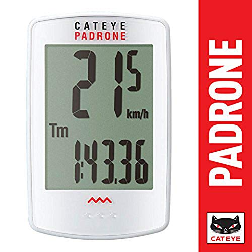 CAT EYE - Padrone Wireless Bike Computer, White