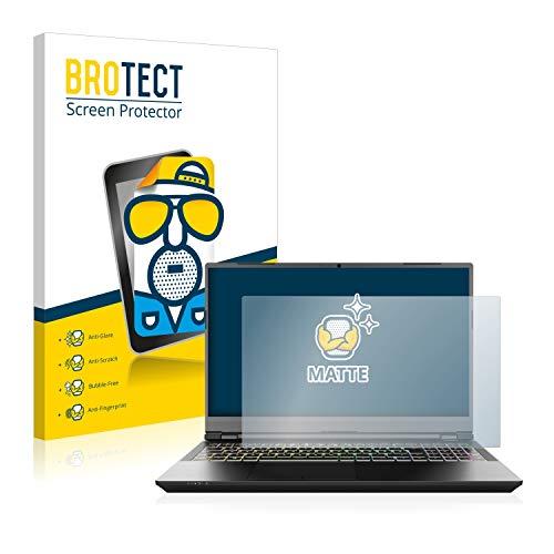 BROTECT Entspiegelungs-Schutzfolie kompatibel mit Schenker XMG Pro 15