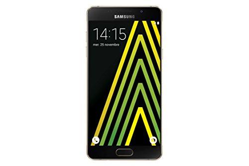 SAMSUNG Galaxy A510 Smartphone (13,2 cm (5,2 Zoll), 16GB) Gold