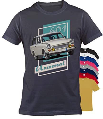 BuyPics4U T-Shirt mit Motiv Trabant Tr40 100% Baumwolle für Herren Damen Kinder viele Farben