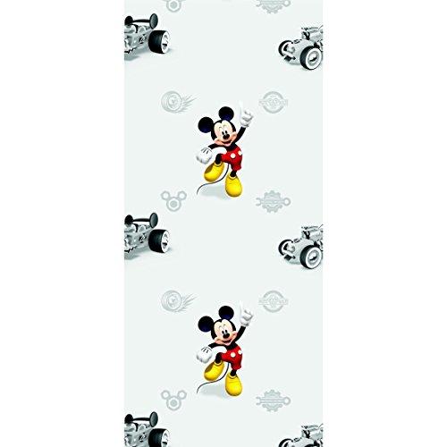 AG Design Fototapete Disney Mickey Mouse Vliestapete Kinderzimmer 0,53 x 10,05 1 Rolle WPD 9772