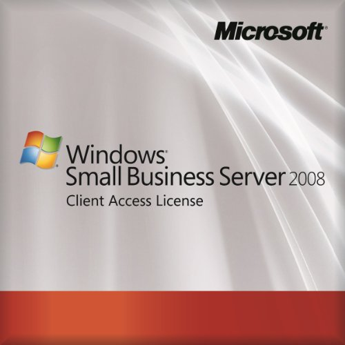 Microsoft OEM Small Business Server 2008 Standard - 1 USER CAL (License Only) [import anglais]
