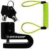 Dunlop - Candado antirrobo para disco de freno de moto