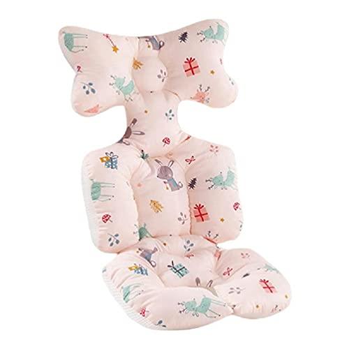Yushu Almohada universal de apoyo para la cabeza del cochecito de bebé silla de paseo de bebé cojín de algodón cálido colchoneta dormir colchón cochecito de bebé Sof silla de paseo forro de asiento