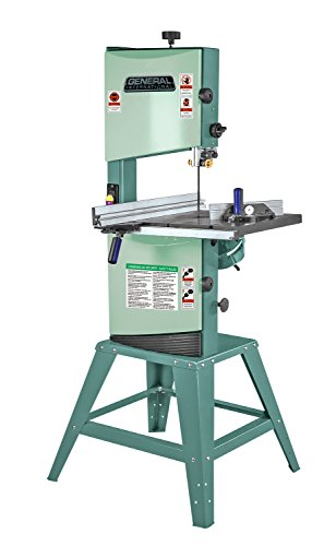 GENERAL INTERNATIONAL 12' Wood Cutting Bandsaw - 2/3 HP Floor Standing Band Saw with 0-45° Tilting Table & Multiple Cutting Speeds - 90-040 M1