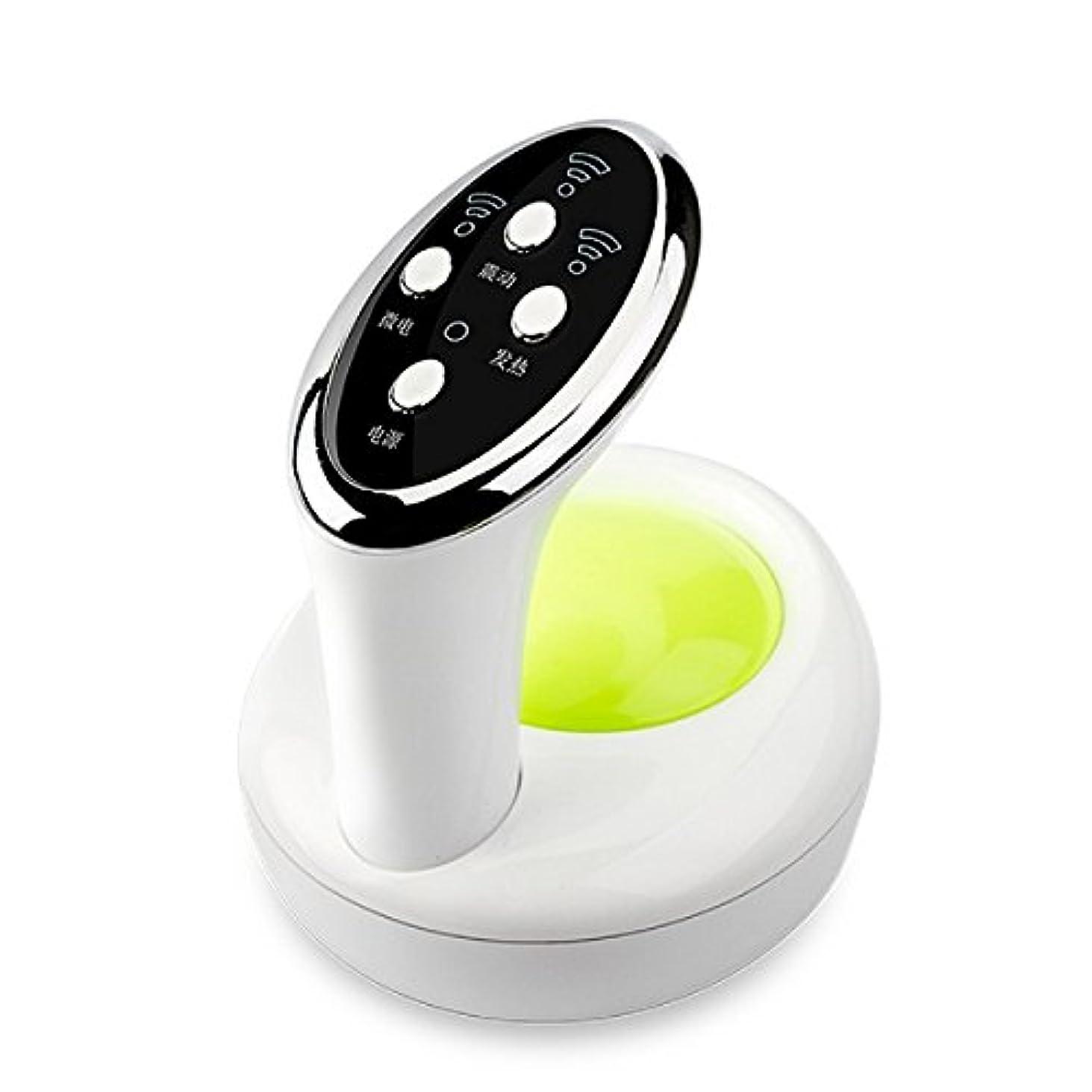 神聖売る合理的ダイエット神器 セルライト ケア ボディ用超音波電動3D美容ヘッド 吸い玉ヘッド 脂肪吸引 ダイエット シェイプアップ シェイプ 自宅 美容神器 正規販売(グリ-ン)