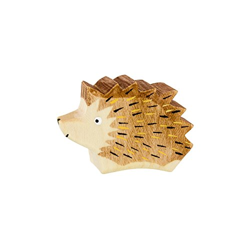 Holzspielwaren Ackermann Igel aus Holz – Wald Holzspielzeug, aus Schwäbischer Handarbeit (100% ökologisch)