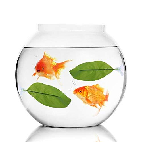 Cuque Artificial Plant Leaf, Betta Hammock Fish Rest Bed Aquariums Supply Leaves