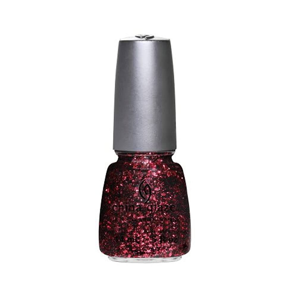 扱うビュッフェ感嘆CHINA GLAZE Nail Lacquer - Glitz Bitz ???n Pieces Collection - Scattered & Tattered (並行輸入品)