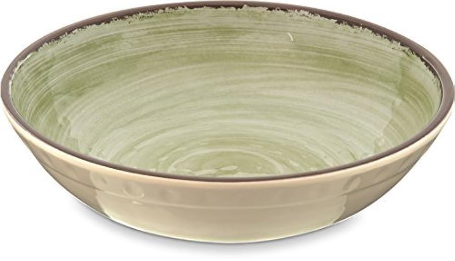 そうでなければ妨げる裸Carlisle 5401946 Mingle Melamine Cereal Bowl 35.5 Oz Jade (Set of 12) [並行輸入品]