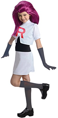 Disfraz de Jessie Team Rocket para niña - 5-7 años