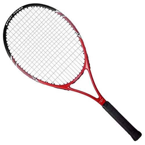 MLPNJ 50-55 LBS Raquetas de Tenis con Bolsa de Fibra de Carbono Raqueta Tenis Padel Raquetas de Cuerda 4 1/4-4 3/8 Racchetta Raqueta de Tenis Raqueta