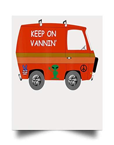 macknessfr Keep ON VANNIN Wall Art Print Poster Home Decor(17x22)