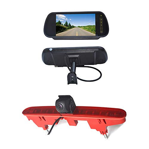 Vardsafe VS6887R 7 pollici sostituzione schermo posteriore & telecamera retromarcia per Peugeot Partner Citroen Berlingo Van (2008-2018)