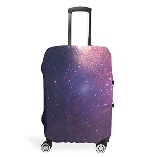 Travel Luggage Case Protector - Space Dustproof Suitcase Protector Multiple Sizes Fit Protective Luggage, White (White) - BTJC88-scc