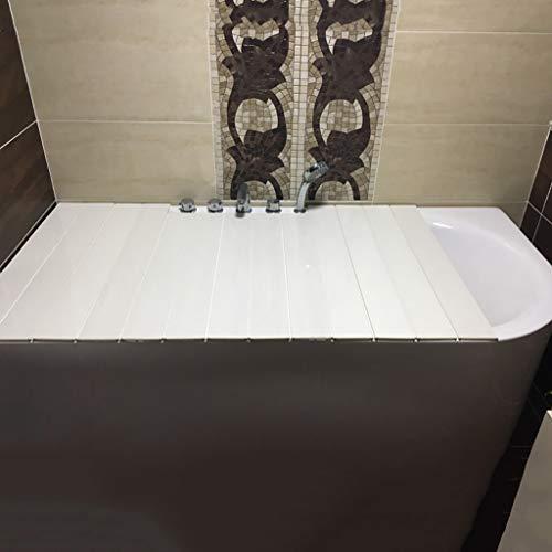 LwBathtub Tray milieuvriendelijke PVC-plastic badkuip, badkuip stof- en plaatsen van goederen gemakkelijk voorkomen, dat stof