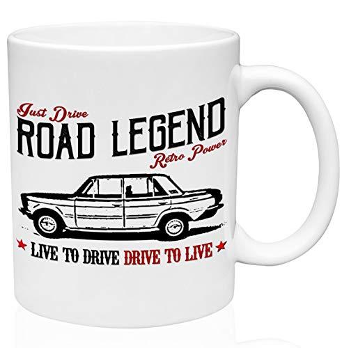 Fiat 125 special road legend 11oz Taza de café de cerámica de alta calidad