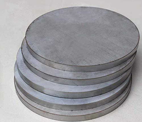 Guide Length: 300mm Linear Rails 6061 Aluminum Alloy Circular Plate 20mmx300mm DIY