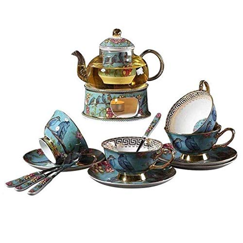 Juegos de Tetera de Mesa de té, Juego de té Chino Hecho a Mano, Tetera de Porcelana, Taza de té de cerámica Creativa, Juego de Tetera de Flores