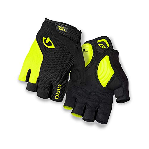 Giro Unisex– Erwachsene STRADE DURE SUPERGEL Fahrradhandschuhe, Black/Highlight Yellow, XL
