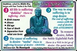 Helion Communications Buddhism The Four Noble Truths Wallet Cards