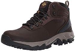 top rated Columbia Newton Ridge Plus Ii Waterproof Hiking Shoes Mens, Cordovan / Squash, 10.5 US 2021