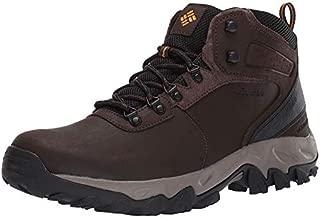 Columbia mens Newton Ridge Plus Ii Waterproof Hiking Boot, Cordovan/Squash, 11 US