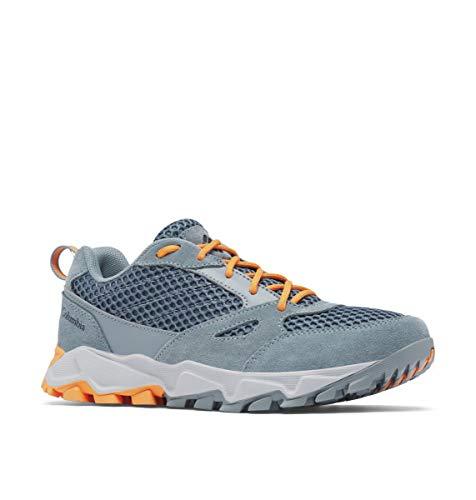 Columbia womens Ivo Trail Breeze Sneaker, Mercury/Koi, 8 US