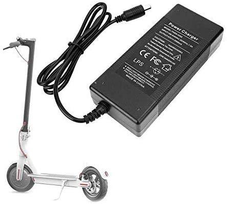 DES- Cargador de batería Patinete Compatible con Xiaomi M365 eléctrico 42V-2000mA reemplazo para Scooter Patinete Bicicleta eléctrico Cargador batería Scooter eléctrico