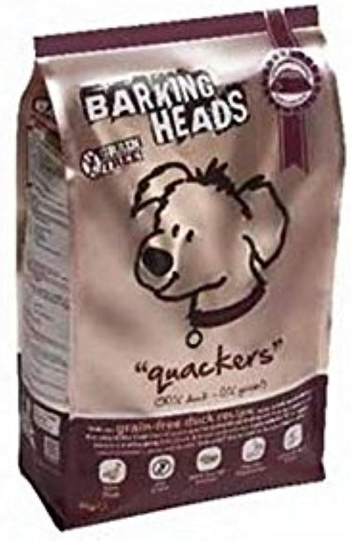 Barking Heads Quackers GrainFree Adult Dog Food (2kg) (Pack of 2)
