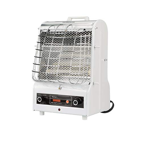 TPI Corporation 198TMC Fan Forced Portable Heater – Radiant, 1500/900/600W, 120V, Winter Heating Equipment. Heating Devices