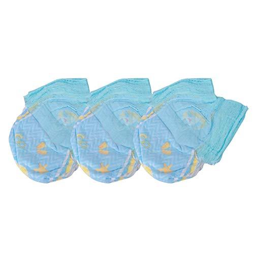 SALUTUYA Pañal Suave Reutilizable Antibacteriano 3 Piezas Pañales de natación para bebés para bebés para Unisex para Todas Las Estaciones(XL 12-16kg)