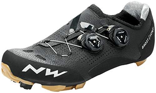 Northwave Ghost XCM 2 - Zapatillas para bicicleta de montaña, color negro y dorado 2021, talla 40,5
