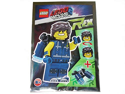 LEGO Movie 2 Rex con Jet Pack Minifigure Foil Pack Set 471906 (Enbolsado)