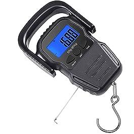 Pêche Numérique Balances Électroniques Crochet De Suspension Portable Balance Balance Électronique Numérique Bagages…