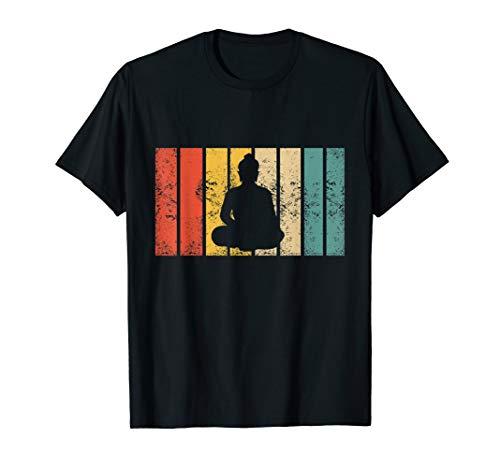 Retro Buddha Zen Gift I Vintage Buddhism Buddhist T-Shirt