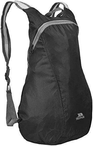 Trespass  Rucksack Kompakt Zusammenfaltbarer Reverse, Black, One Size, UAACBAL30001_BLKEACH