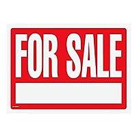 Cosco for Sale サインキット 1 1/2インチレター付き 両面 16インチ x 22 1/2インチ レッドサイン ホワイトテキスト(098070)