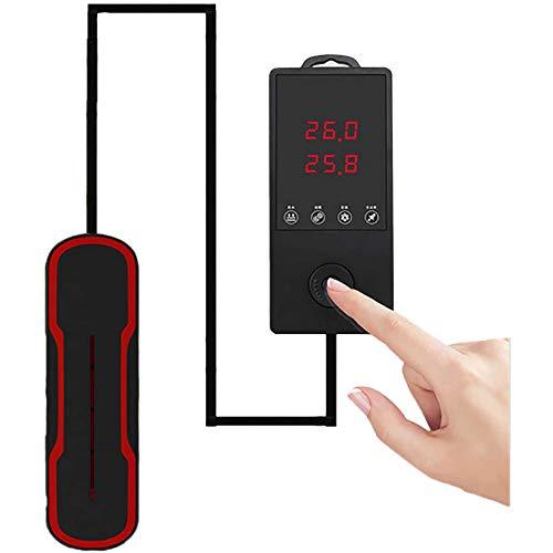 Varilla De Calentamiento De Acuario De Calefacción De Acuarios Con Controlador De Temperatura, Radiador De Buceo De Barra De...